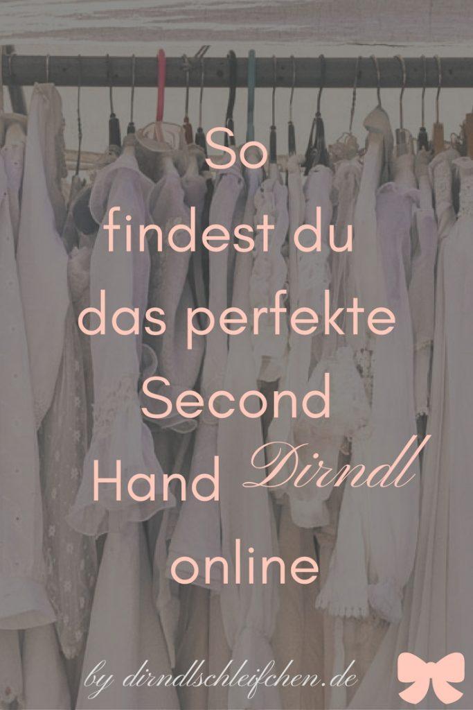 So findest du das perfekte Second Hand Dirndl online Pinterest