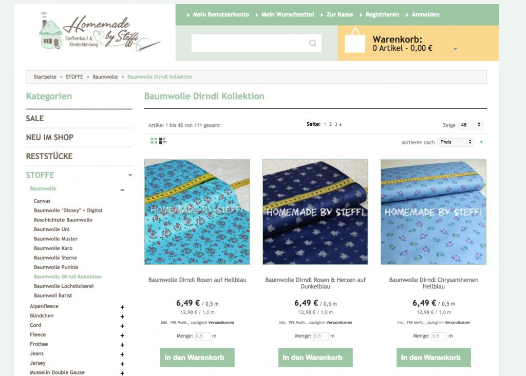 Trachtenstoffe online kaufen | Übersicht Online-Shops ...  Trachtenstoffe ...