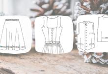 Bild von 1. Advent 2019: Gewinne ein Dirndlschnittmuster deiner Wahl von Dirndl-Schnitte